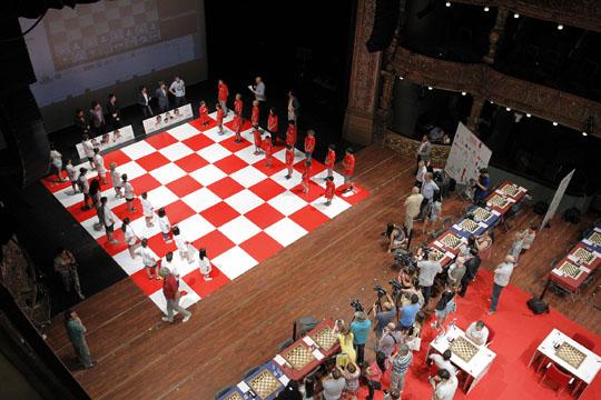 Berlin Wall Chess : Bilbao wei yi cracks berlin wall chessbase