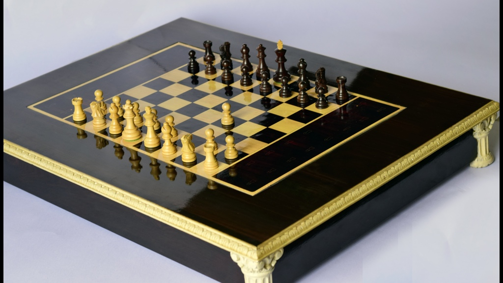 Thatu0027s When They Decided To Create A Classic, Rosewood Finish Chessboard  With Exquisitely Designed Chess Pieces.