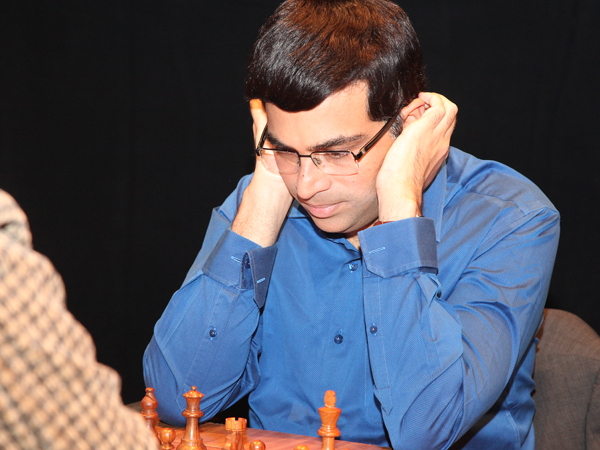 Anand hunker's down