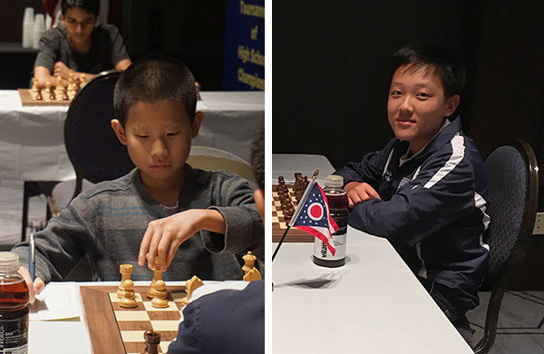 Justin Wang and Christopher Shen
