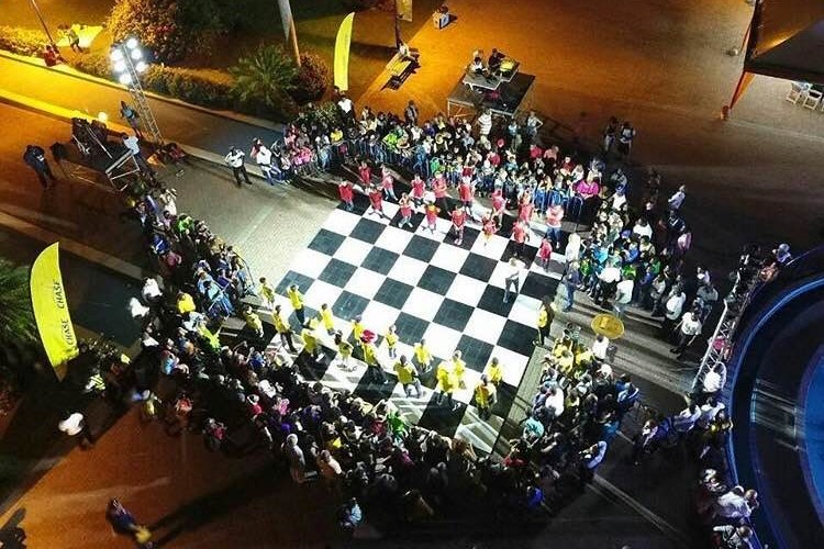 Chess Festival Drone Image
