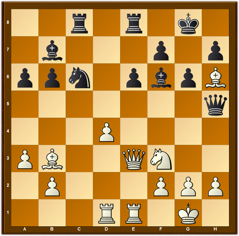 Search for positions similar to this one with an isolated pawn