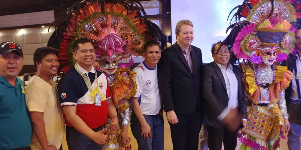 Short with Masskara dancers