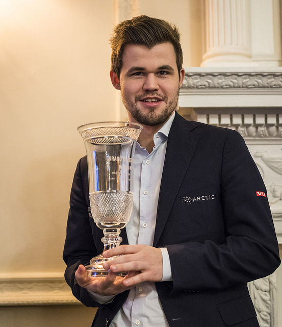 Magnus Carlsen by Lennart Ootes
