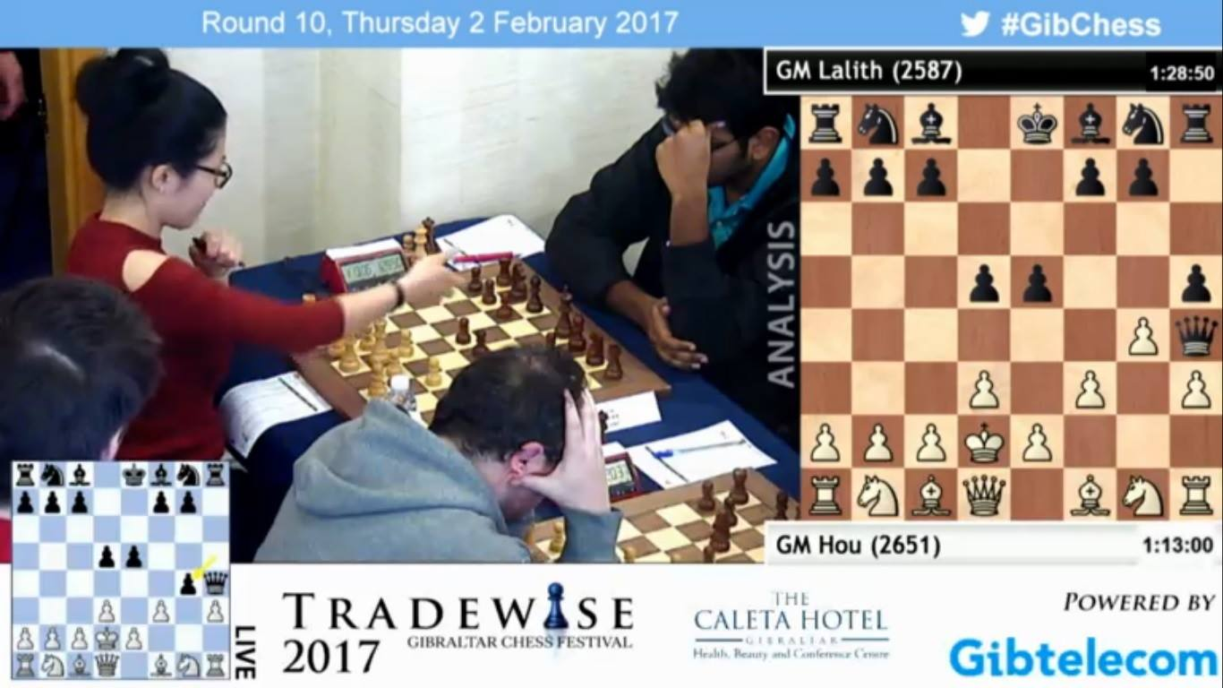 gibraltar flash hou yifan resigns in 5 moves chessbase