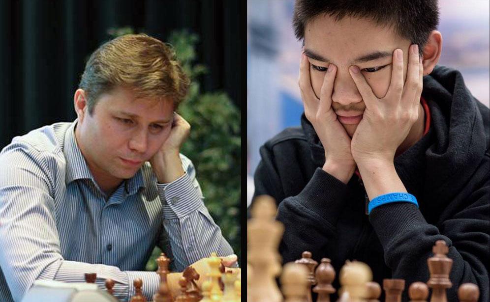 Alexander Motylev y Jeffery Xiong | Fotos:Pascal Simony Lennart Ootes