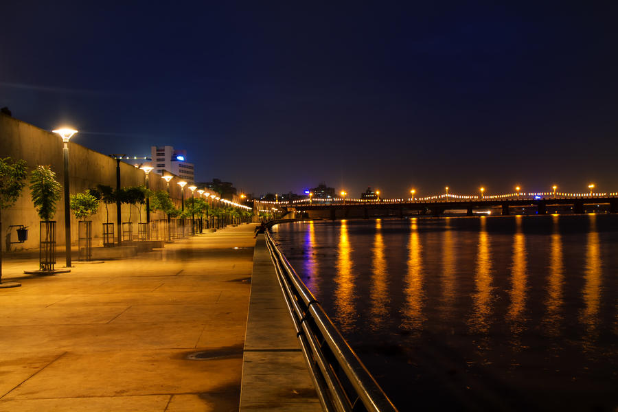 Ahmedabad river front