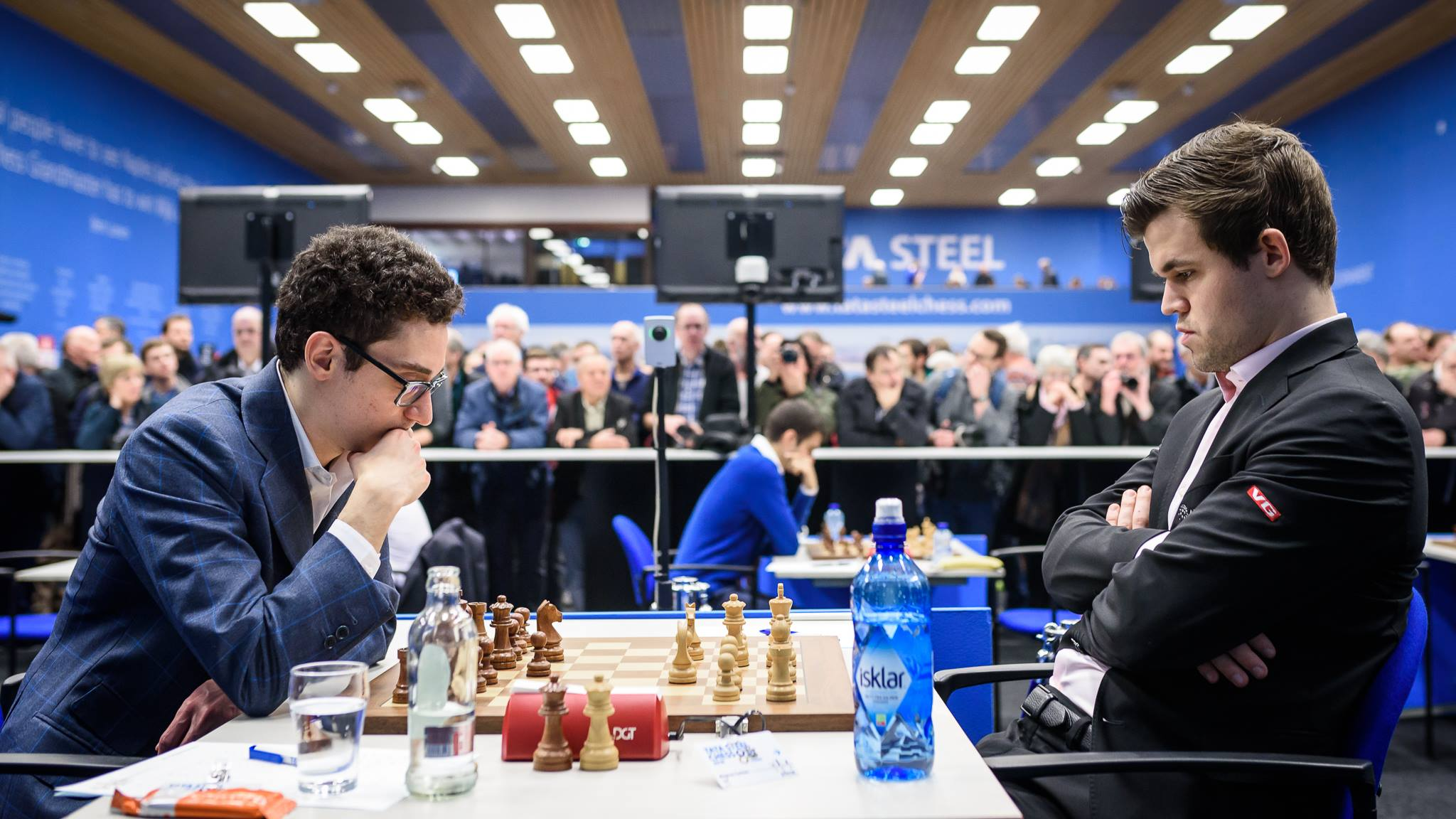 Caruana and Carlsen