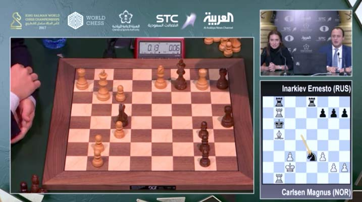 World Blitz frame via ChessCast