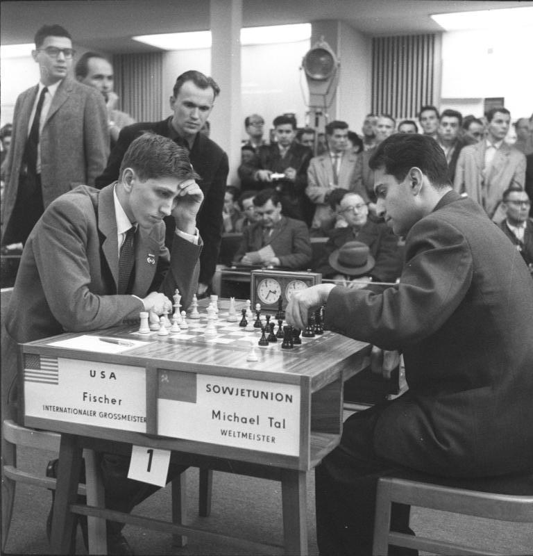 Fischer against Tal