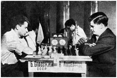 Boris Spassky and Bill Lombardy