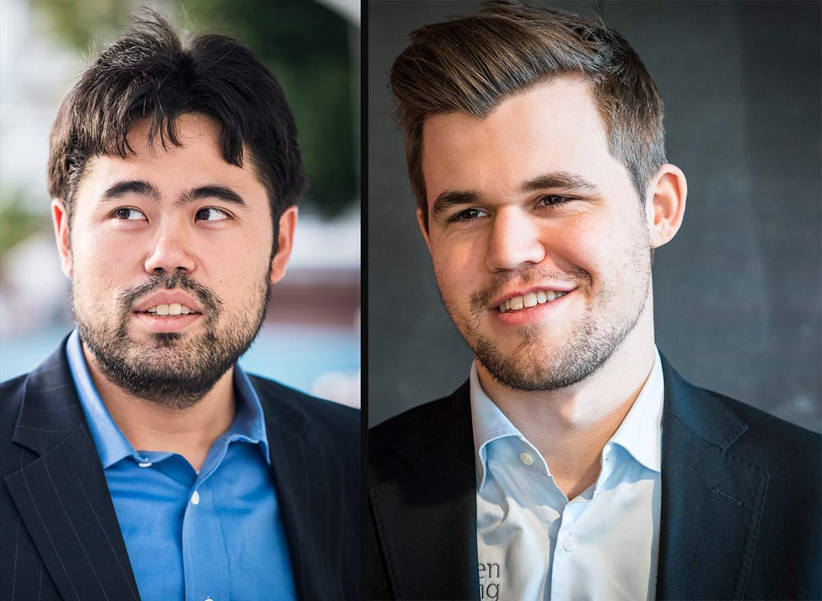 Nakamura and Carlsen