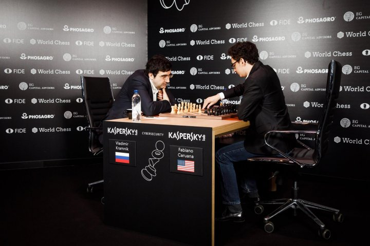 Kramnik and Caruana