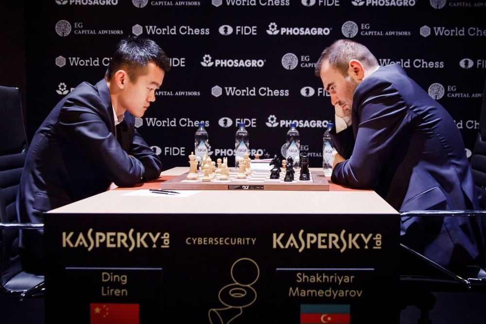 Ding and Mamedyarov