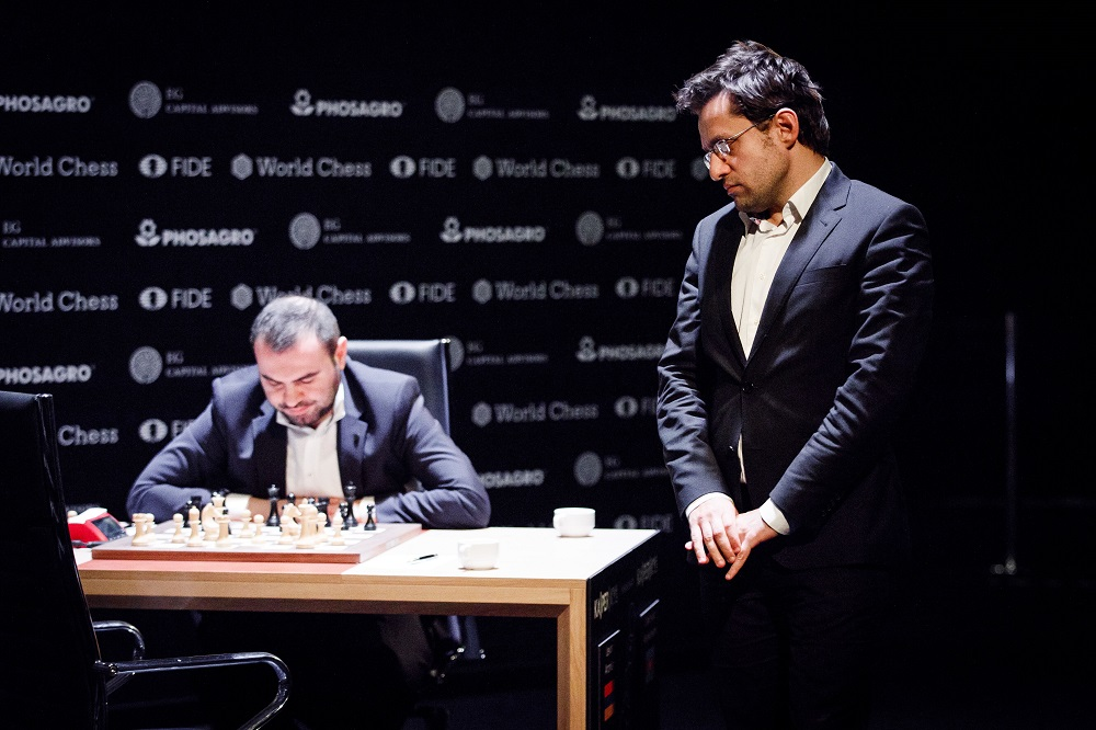 Mamedyarov and Aronian