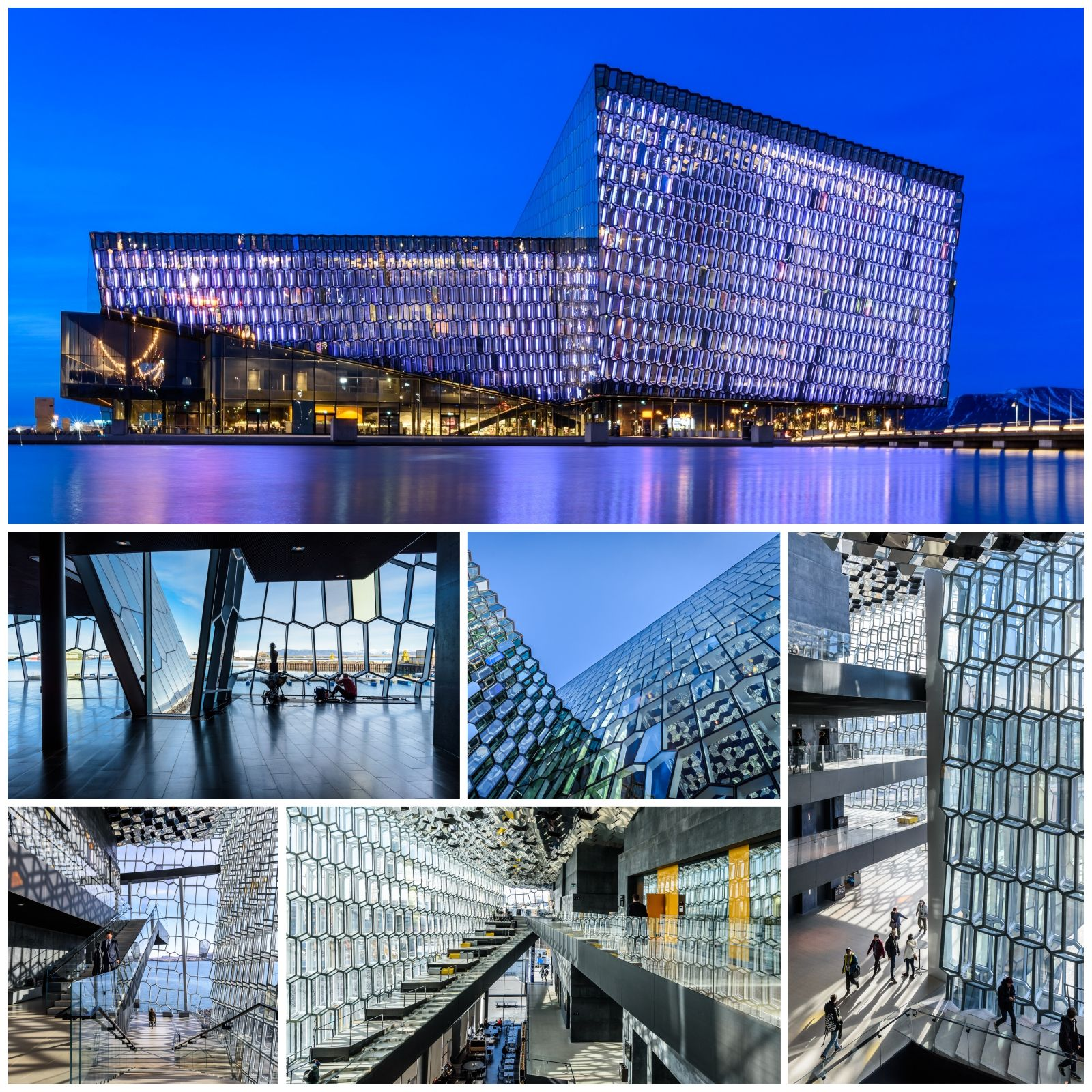 Harpa collage
