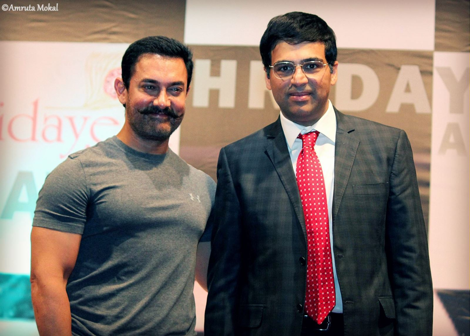 Aamir Khan with Anand
