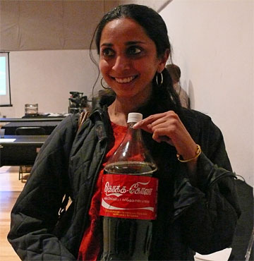 Aruna and Indian Coke