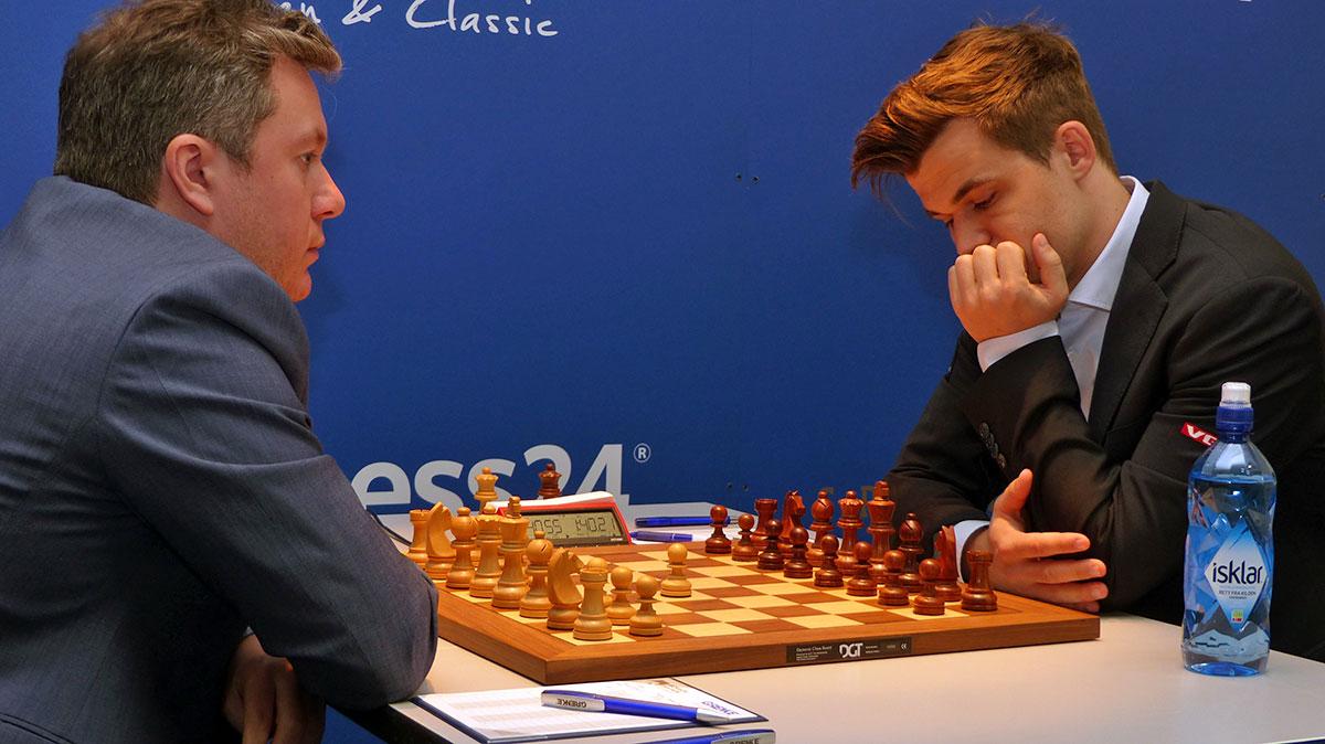 Naiditsch vs Carlsen