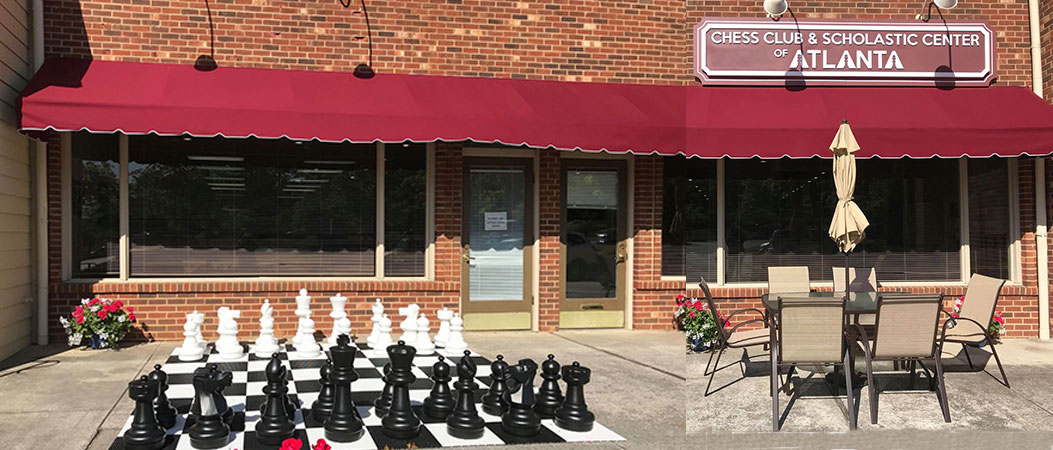 Chess center front
