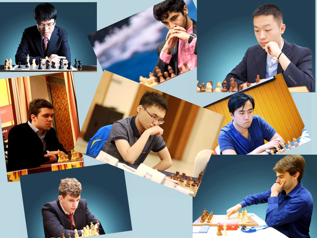 This year's line-up of the Danzhou Masters