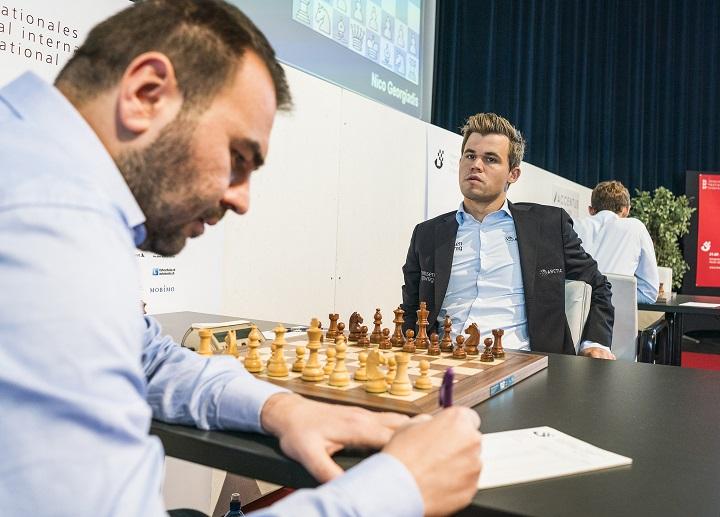 Mamedyarov vs Carlsen