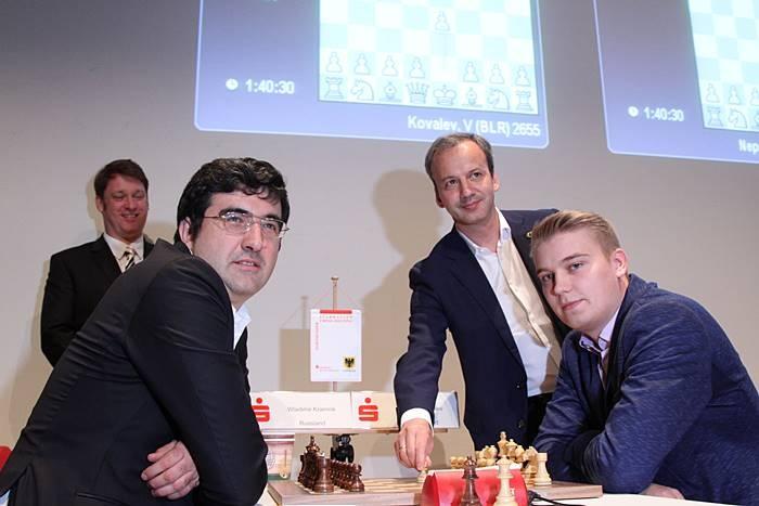 Kramnik and Kovalev