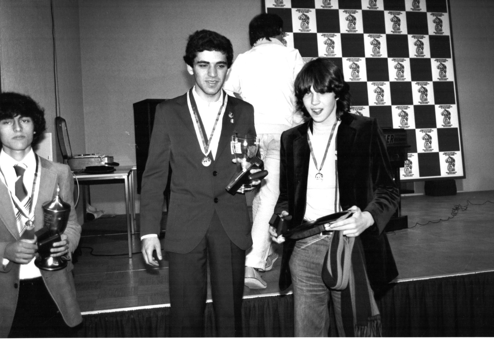 Kasparov and Short