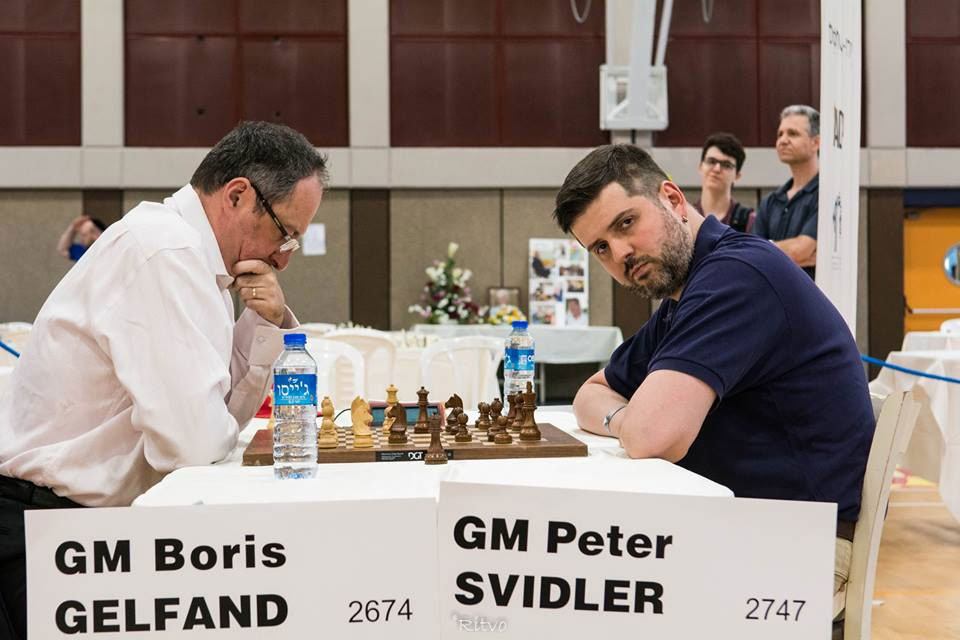 Gelfand and Svidler