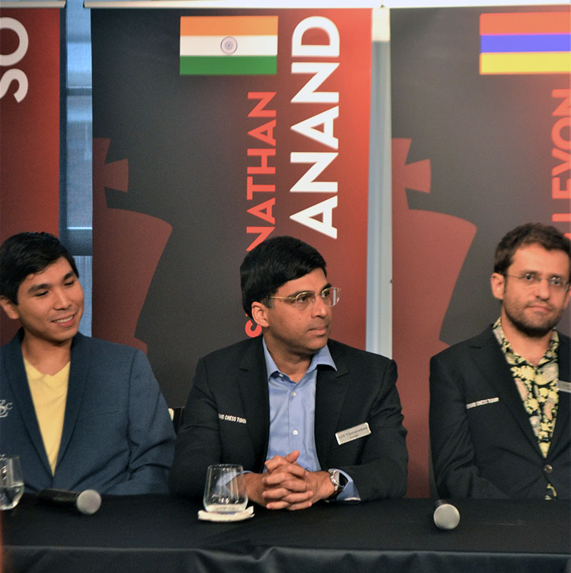 So, Anand, Aronian