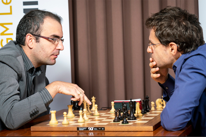 Dominguez and Aronian