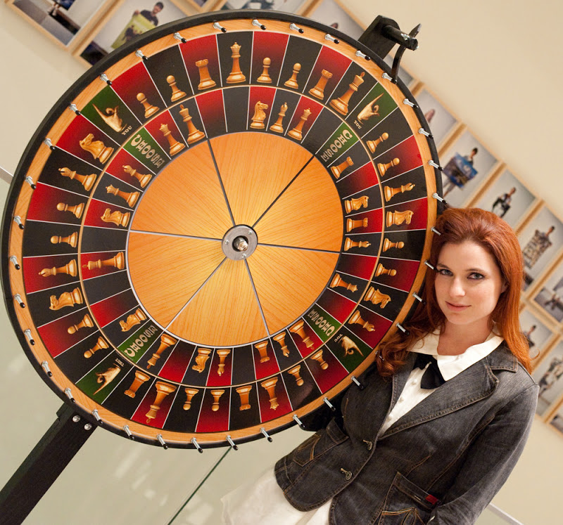 Jennifer Shahade and Roulette chess
