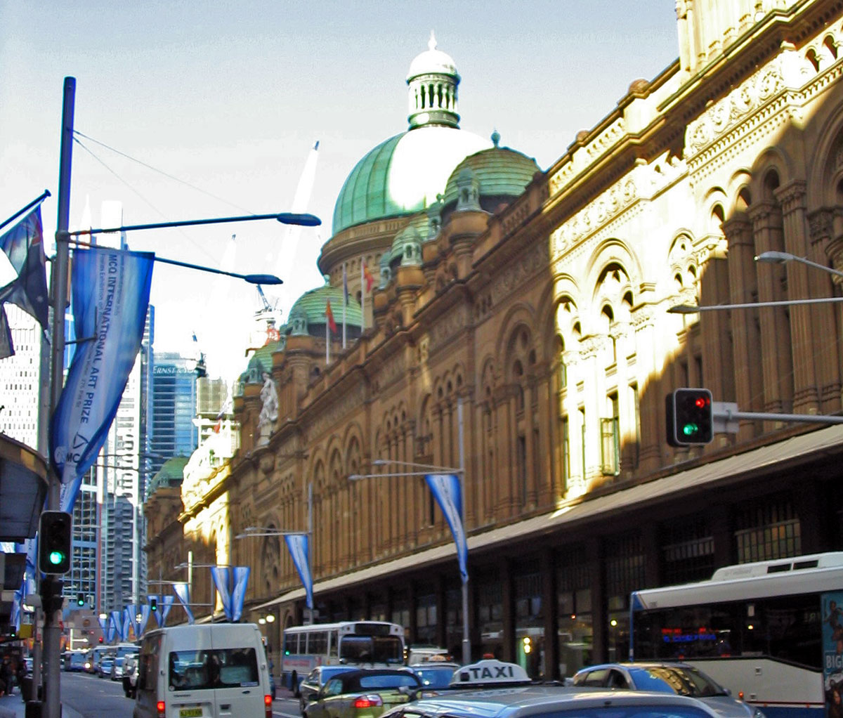 Queens Victoria Building in Sydney