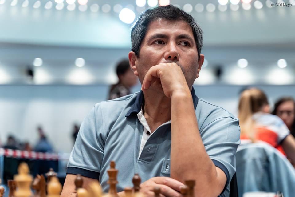Vicepresidente de la FIDE Julio Granda | Foto: Niki Riga