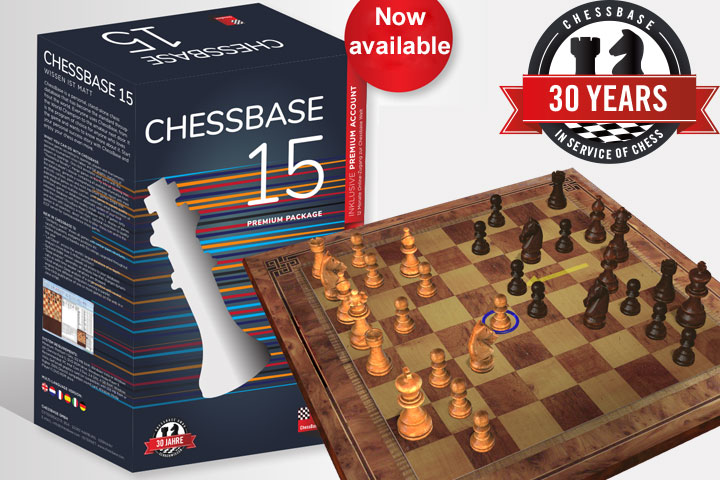 ChessBase 15 now released | ChessBase