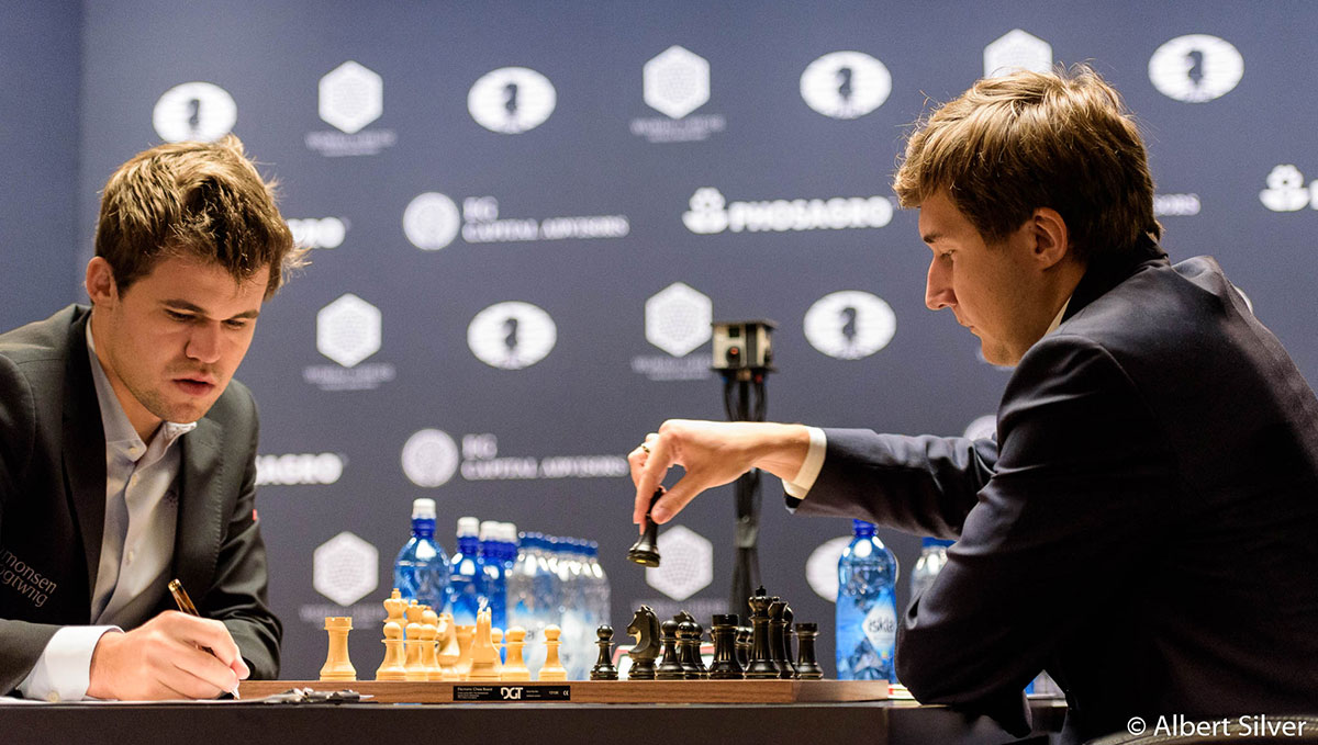 Karjakin moves in game 10