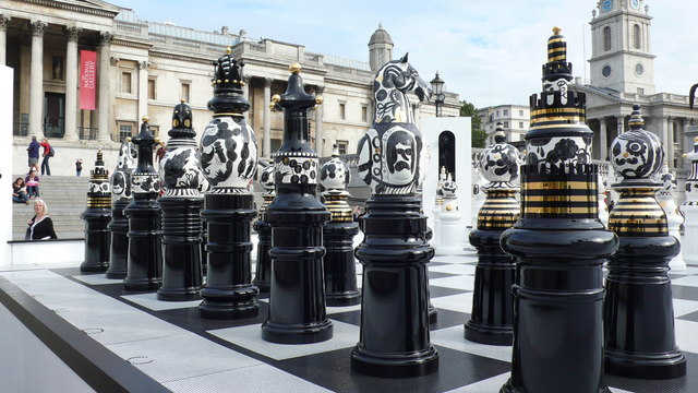 Trafalgar Square chess