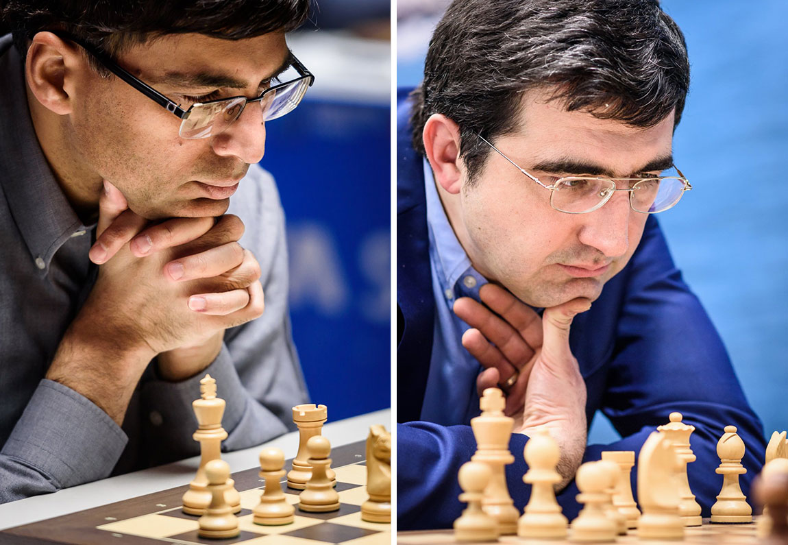 Anand and Kramnik