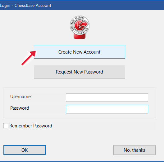 Create CB account
