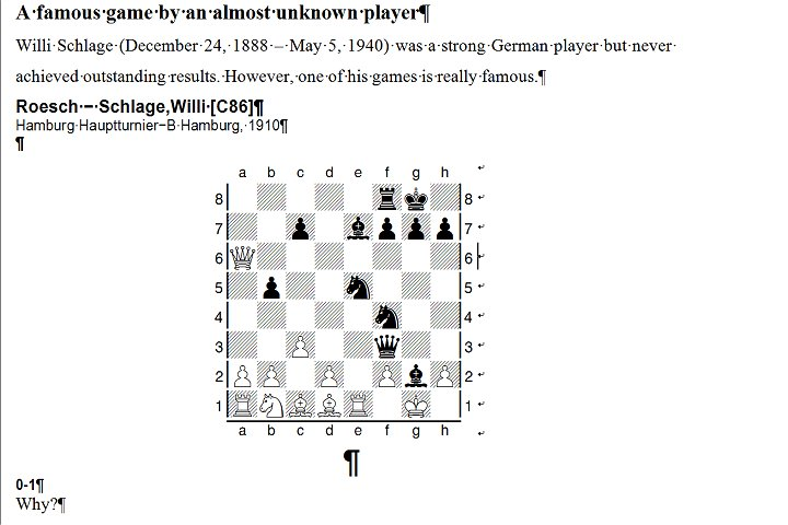 Exporting diagram ChessBase 14