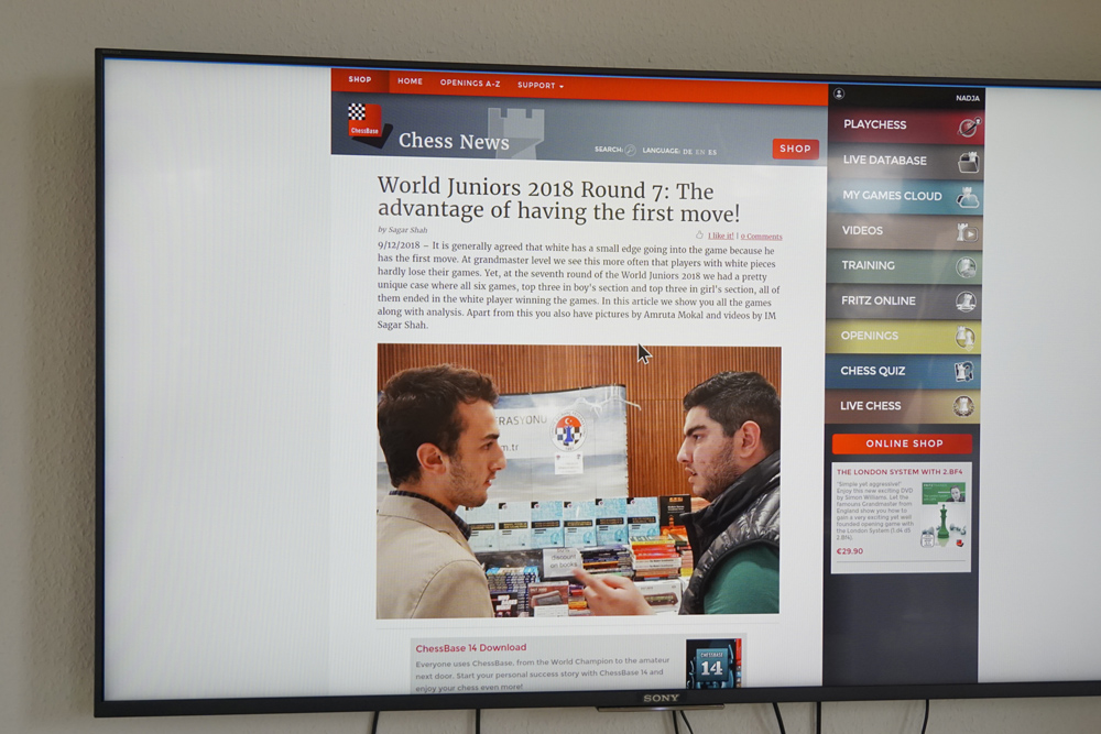 Bringing chess to your TV screen | ChessBase