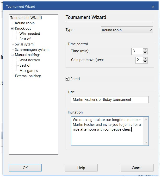 Tournament Wizard