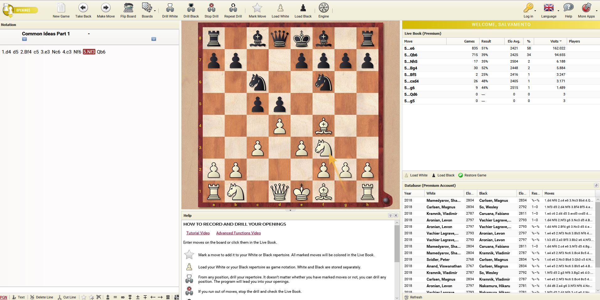 Opening training tips | ChessBase