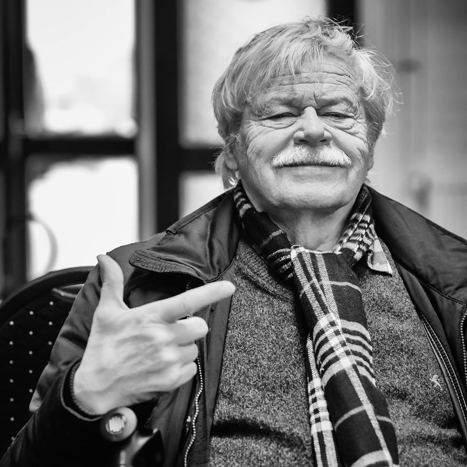 Vlastimil Hort está en Wijk aan Zee| Foto: Alina l'Ami