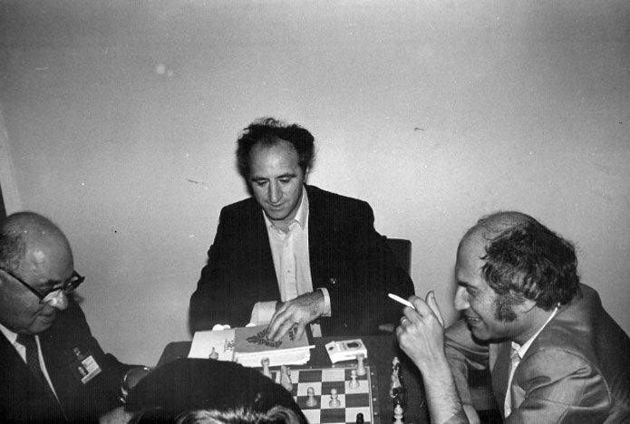 Tal with Baturinsky and Polugaevsky