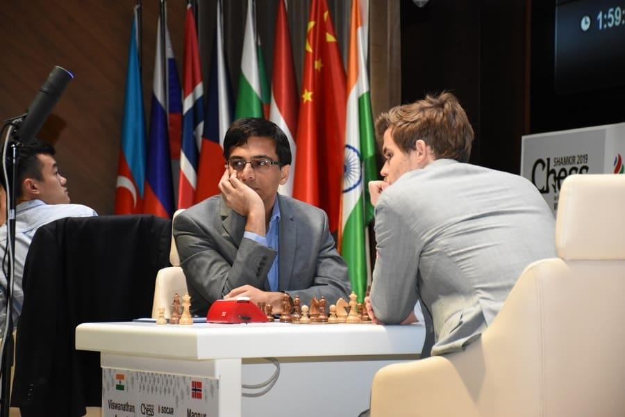 Vishy Anand, Magnus Carlsen