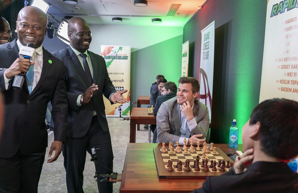 Maurice Ashley, Magnus Carlsen
