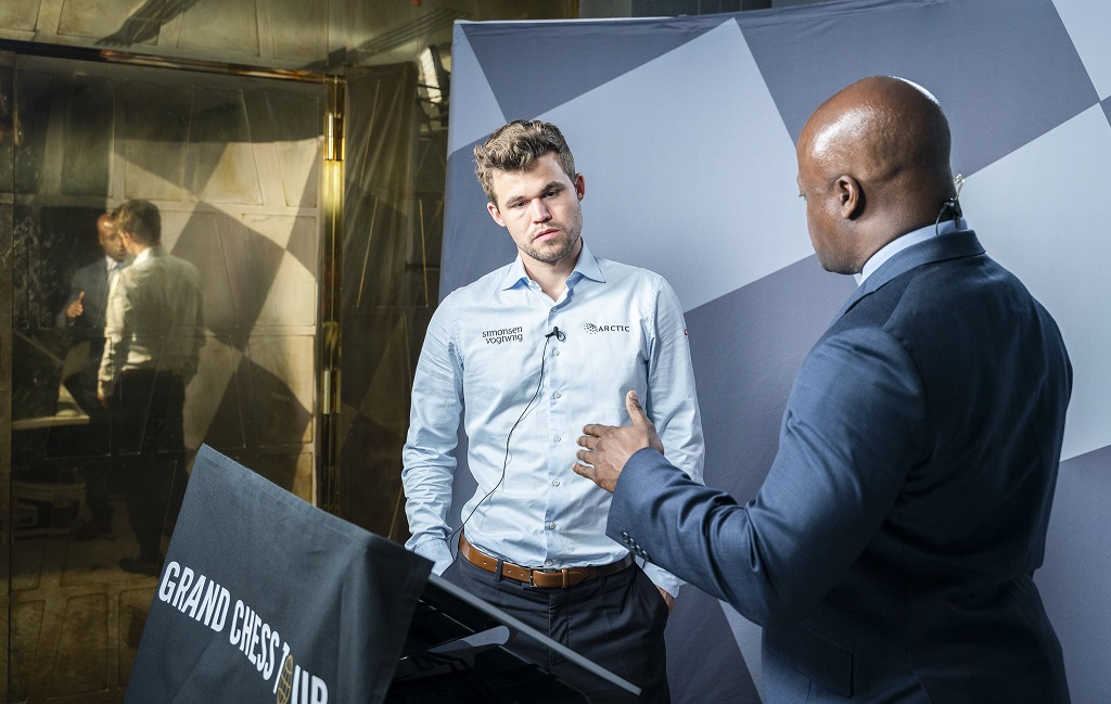 Magnus Carlsen, Maurice Ashley