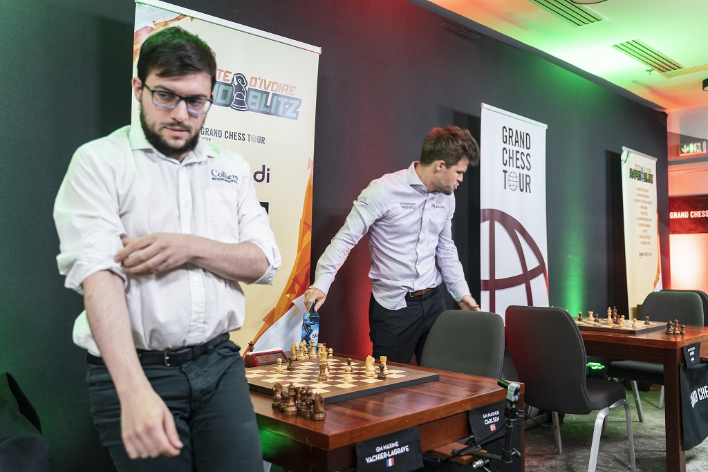 Maxime Vachier-Lagrave, Magnus Carlsen