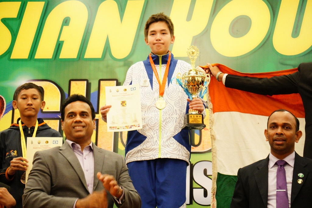 Asian Youth Ches Championship 2019, Nogerbek Kazybek